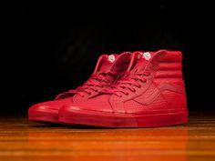 4b512bd93a Color  Red · Vans Sk8 Hi ReissueHigh ...