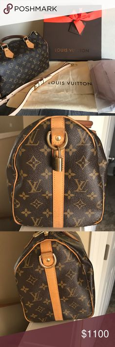 91b3f009f339 Louis Vuitton Speedy Bandouliere 30 Gently used speedy b 30 Comes with lock  keys box dust bag and organizer Louis Vuitton Bags Shoulder Bags