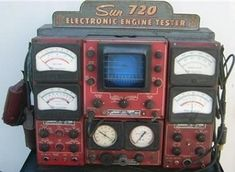 Good Old Sun Electronic Engine Tester