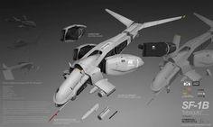 PLANETSIDE 2 Pre-Viz: SF-1B MOSQUITO by ukitakumuki on deviantART