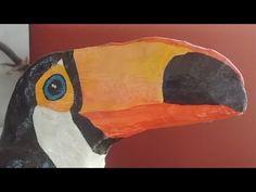 Pintura Do Tucano - veja como pintar o tucano - YouTube
