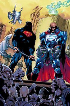 Action Comics #971• Dan Jurgens (w) • Stephen Segovia & Art Thibert (a) |Cover by Stephen Segovia & Art Thibert|