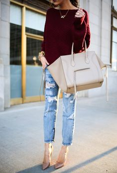 The Sweetest Thing: Laid Back Outfit | Holiday Style