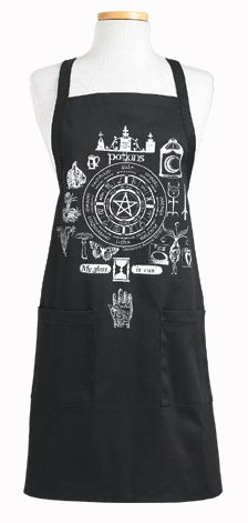 Potions Apron #kitchen #apron #goth #witchcraft