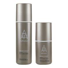 Alpha-H Liquid Gold - glycolic acid, A fave! Beauty Bay, My Beauty, Beauty Stuff, Gold Face, Alpha Hydroxy Acid, Best Natural Skin Care, Liquid Gold, Skin Care Remedies, Glycolic Acid