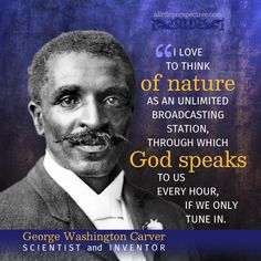 George Washington Carver was an African American scientist and educator. Carver is famous for many inventions including a number of uses for the peanut. Men Quotes, Wise Quotes, Faith Quotes, Famous Quotes, Inspirational Quotes, George Washington Carver Quotes, African American Scientists, Scripture Pictures, Booker T