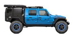 Jeep Gladiator - Australian style New Jeep Truck, Jeep Wranger, Off Road Jeep, Jeep Wrangler Off Road, Overland Truck, Jeep Wrangler Accessories, Cool Jeeps, Expedition Vehicle, Jeep Gladiator