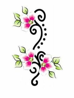Doodle Drawings, Doodle Art, Rock Flowers, Beadwork Designs, Alphabet Stencils, Hand Embroidery Flowers, Native Design, Painted Sticks, Flower Doodles