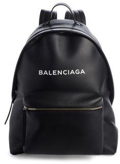894262c52667 Balenciaga Everyday Calfskin Backpack - Black Xxl