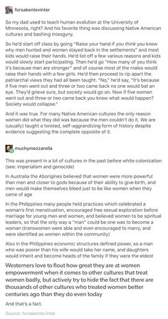 To that last part, not to mention they're also the ones who wiped out those better cultures to begin with.