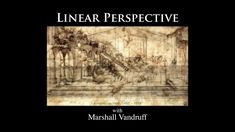 Introduction to Perspective Drawing -- 1994 Chalkboard Lectures with Marshall Vandruff Learn Art, Learn To Draw, Perspective Drawing, Art Tips, Bambi, Painting Techniques, Chalkboard, Art Tutorials, How To Introduce Yourself