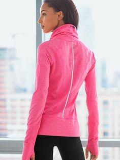 Victoria's Secret Pullover, Size: XS, Color: Black Melange