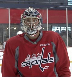And now for something completely different -- Goalie Ovie
