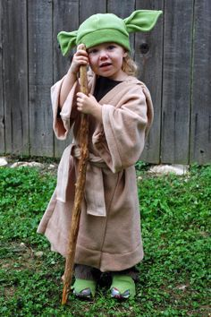 DIY yoda for young kid - Google Search