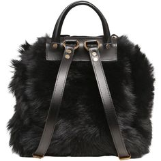 Giuseppe Zanotti Design Women Faux Fur Backpack With Suede Details (17.494.450 IDR) ❤ liked on Polyvore featuring bags, backpacks, accessories, backpack, сумки, day pack backpack, faux fur bags, drawstring backpack bags, suede bags and suede leather bag