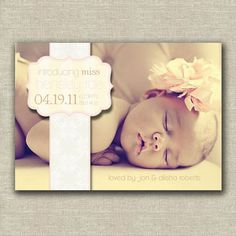 oh my goshhhh, i love this baby announcement!!