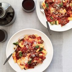 Beef Brasato with Pappardelle and Mint #tipsandtricks #boozybeef