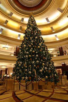 The Christmas Tree at Beach Rotana Abu Dhabi