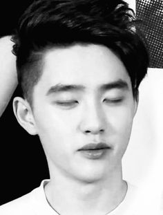 Kyungsoo. Is it hot in here?