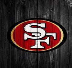 San Francisco ~ Let's Go Niners! Nfl 49ers, 49ers Fans, Nfl Football Teams, San Francisco Basketball, San Francisco Giants, Basketball Equipment, Rustic Logo, Joe Montana, San Fransisco