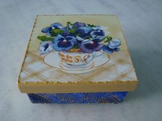 Caixa joia/biju - www.elo7.com.br/esterartes
