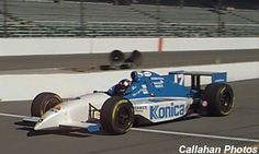 Andy Michner   USAC midget star who made seven Indy Car starts in 1998-99... best finish came in his first start, an 8th at the 1998 Indianapolis 500... here he is at Indy: