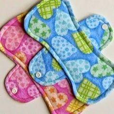 a.n.i.m.é.: Les serviettes hygiéniques lavables