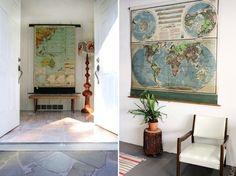 *bellaMUMMA {life is beauty-full}: home inspiration: WORLD MAPS
