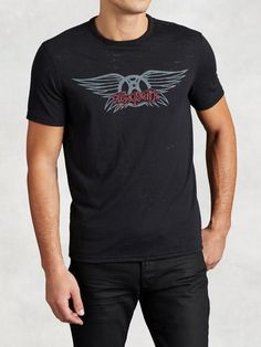 Aerosmith Wings Graphic Tee (John Varvatos Star U.S.A. Resort 2016)