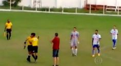 Welcome To Chitoo's Diary.: Oh Dear!!!!  Brazilian football referee pulls gun ...