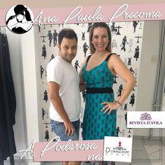 Nossa Poderosa Ana Paula Precoma ao lado do Poderoso Delano Cavalcante conferindo as novidades da D' Cavalcante Store