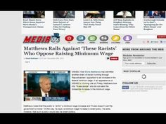 MSNBC: You're Racist if You Don't Support Raising Minimum Wage Political Psychology, Minimum Wage, Raising, Politics, America, Youtube, Youtubers, Usa, Youtube Movies