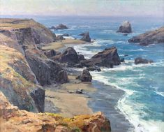 View The Headlands by Clyde Aspevig on artnet. Browse upcoming and past auction lots by Clyde Aspevig. Landscape Art, Landscape Paintings, Clyde Aspevig, Star Valley, Watercolor Pictures, Watercolor Art, Southwest Art, California Coast, Am Meer