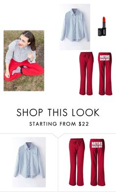 """""""miranda sings inspired outfit!"""" by sarahmae-2307 ❤ liked on Polyvore featuring NYX"""