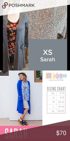 LuLaRoe Sarah Size XS NWT We have tons more to list. helping a friend liquidate her inventory. So let us know what your looking for and we will see what we have in your size. She is open to offers as well. Jewelry is Park Lane! We can get those items too! Create a bundle for you. LuLaRoe Sweaters Cardigans