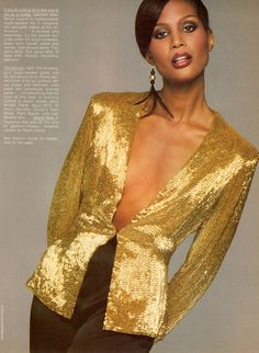 Beverly Johnson by Francesco  Scavullo 1979