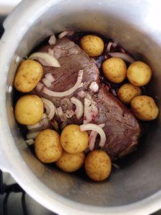 carne panela de pressão só suja 1 panela