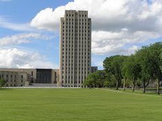 The North Dakota State Capitol was built in the 1930s and is the tallest building in North Dakota.