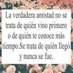 Esta frase te puede servir para un poema de amistad  #AMISTADPORSIEMPRE Great Quotes, Me Quotes, Valentine Day Boxes, Tumblr Image, Best Friends Forever, Spanish Quotes, Good Thoughts, Friendship Quotes, Positive Quotes