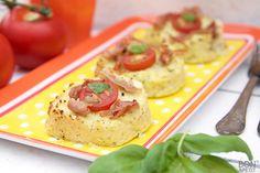 Zo wordt bloemkool eten leuk en lekker! Hoe? Maak er taartjes van uit de oven. Zeker weten dat je kinderen ervan smullen. Recept? Lees verder op BonApetit!