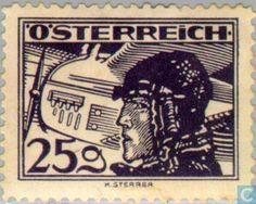Stamps - Austria - Pilots
