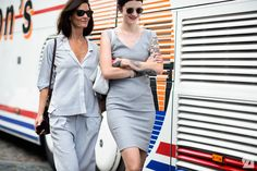 going grey. Hedvig & Marianne in Copenhagen. #TheNorthernLight #StyleDevil