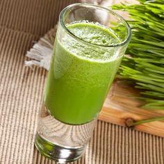 Suco verde diurético | Minha Vida