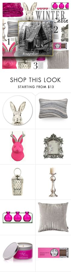 """""""2018 – Winter Homes"""" by foolsuk ❤ liked on Polyvore featuring interior, interiors, interior design, home, home decor, interior decorating, White Faux Taxidermy, Global Views and Fornasetti"""