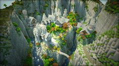 Rivendell made in Minecraft. ... and so I admit to a whole new level of nerd.