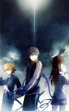 Yato, Yukine and Hyori