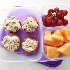 Office lunch: southern chicken salad bites via @Laura Fuentes/ MOMables.com
