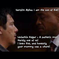 Leviathin and Alpha Vampire Supernatural Quotes, Sam Dean