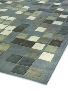 #Mosaic #Grey by Yasmina Benazzou, Edition One, Tai Ping. #Handtufted #handmade #rug, 100% #wool