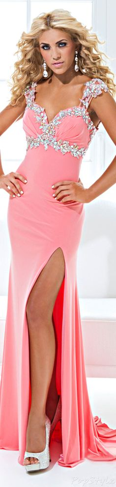 Tony Bowls 114743 Sweatheart Gown